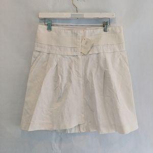 Brunello Cuccinelli linen skirt 6 BNWT